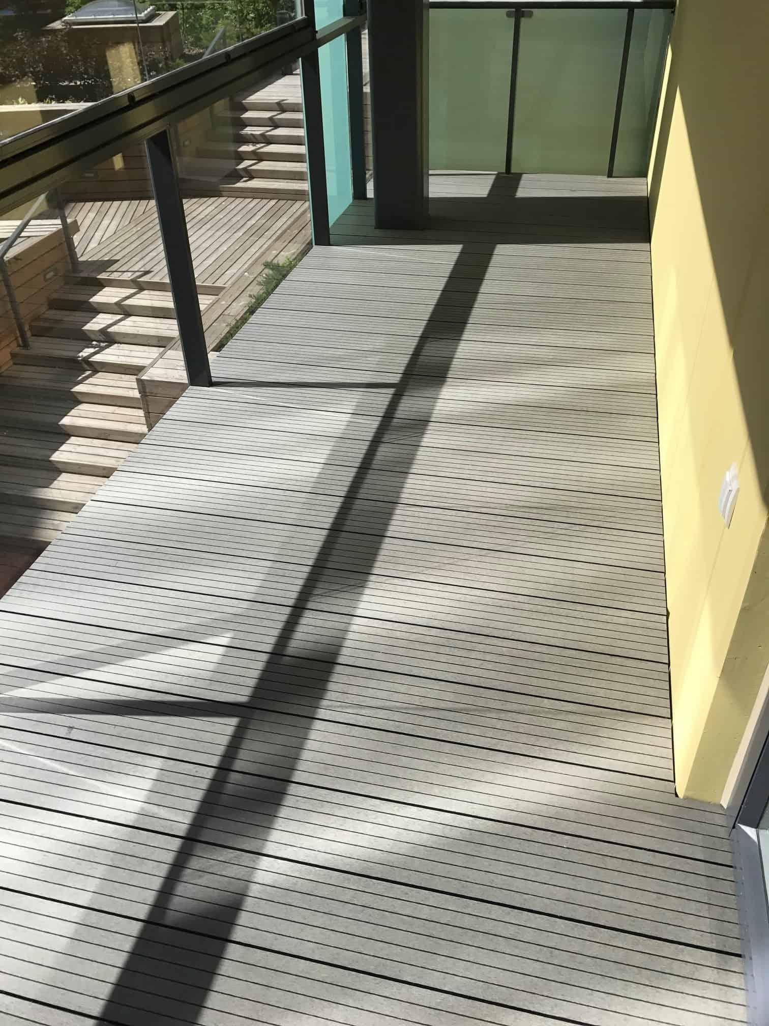 Komposiit terrassiehitus laud